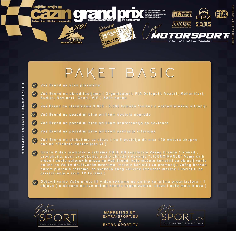 Paket za sponzore BASIC